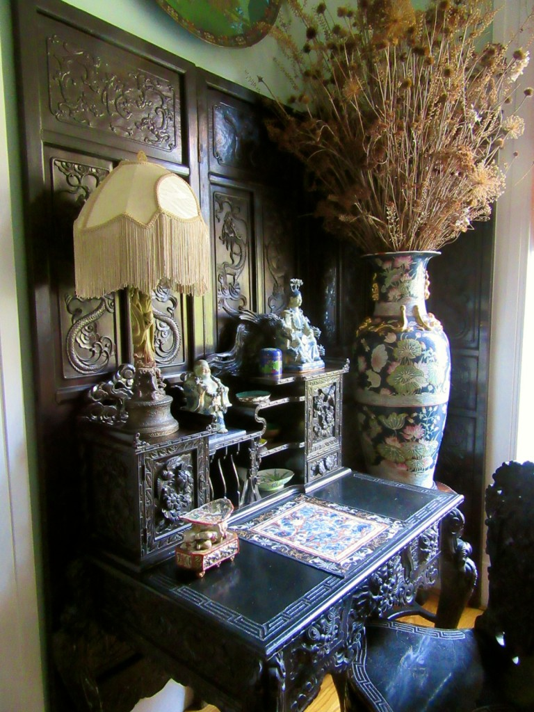 Asian antiques, Causey Mansion BnB, Milford DE