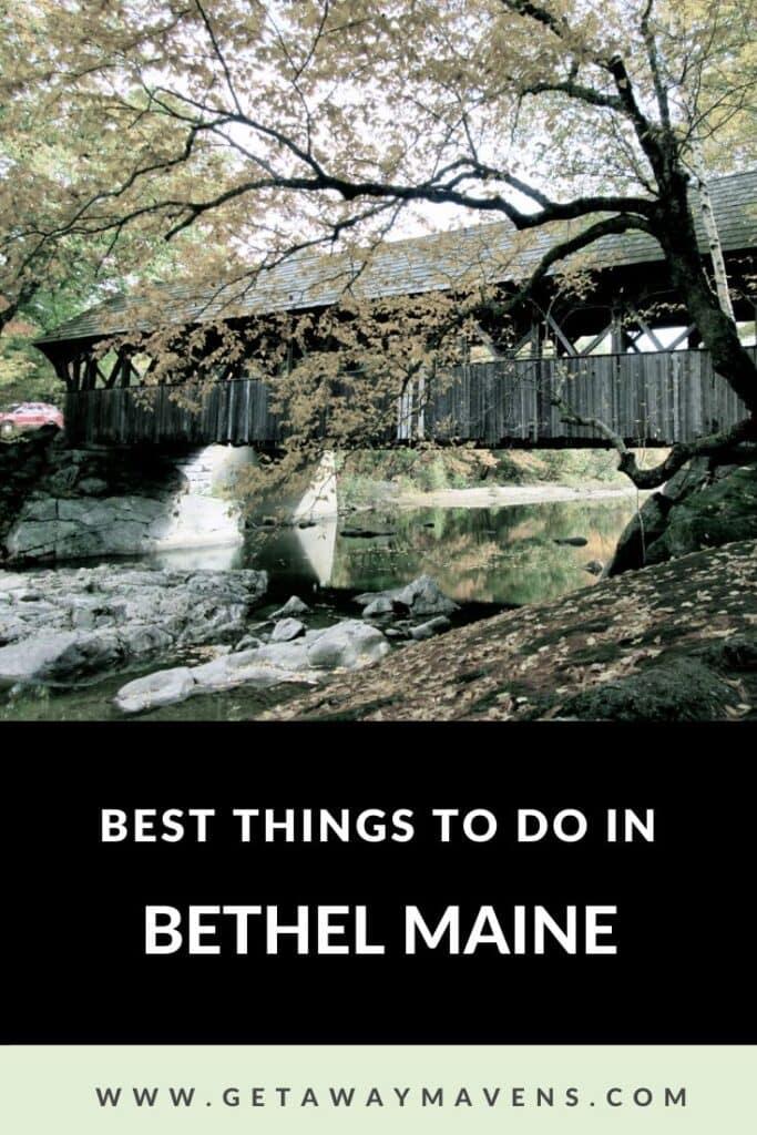 Bethel Maine Pin