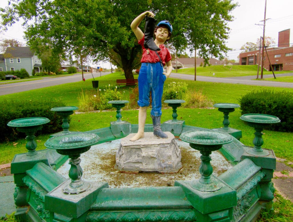 Boy and the Boot Pierce Park Houlton ME