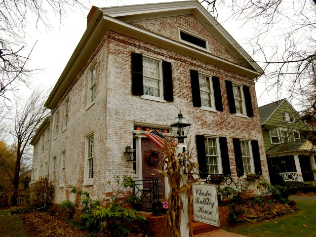 Chester Bulkley House Exterior, Wethersfield CT