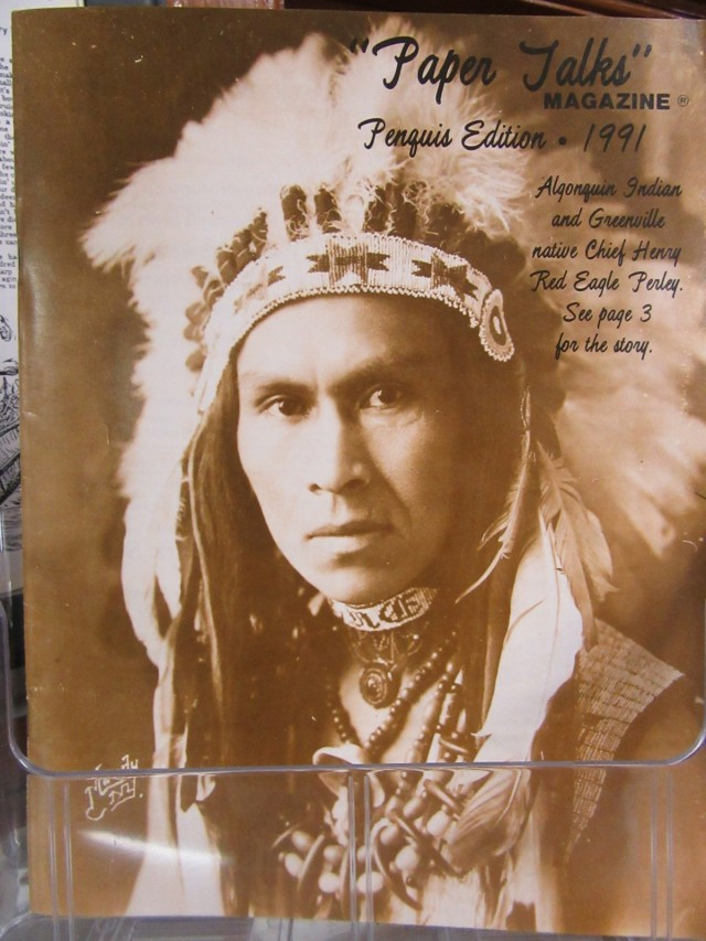 Chief Red Eagle, Greenville ME