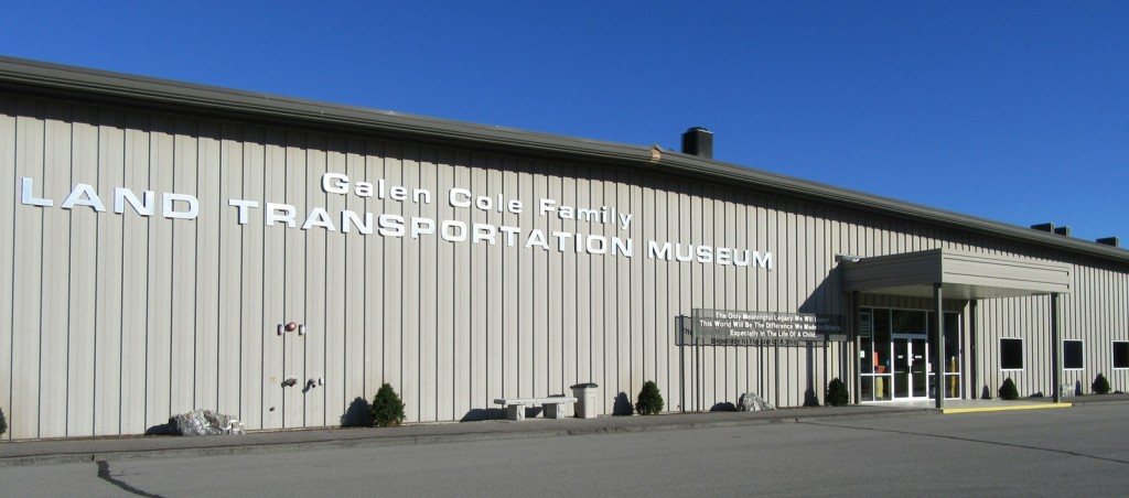 Cole Land Transportation Museum, Bangor ME