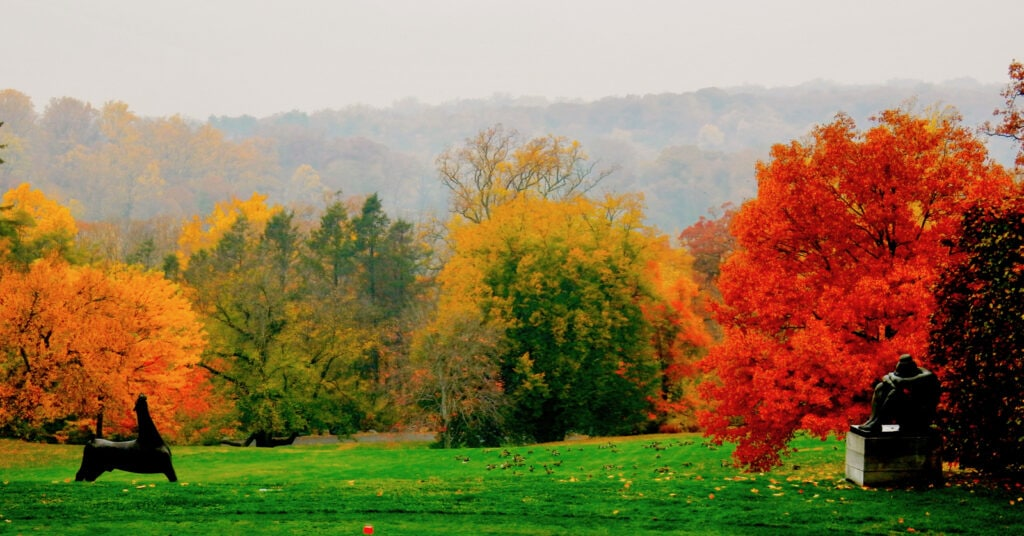Sleepy Hollow NY in Autumn