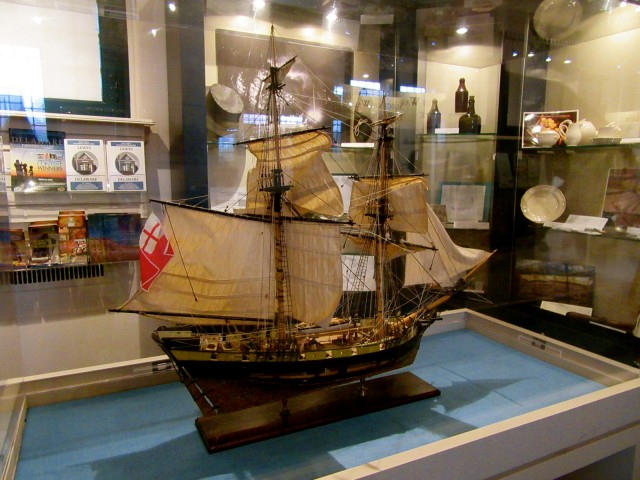 DeBraak Model at Zwaanendael Museum, Lewes DE
