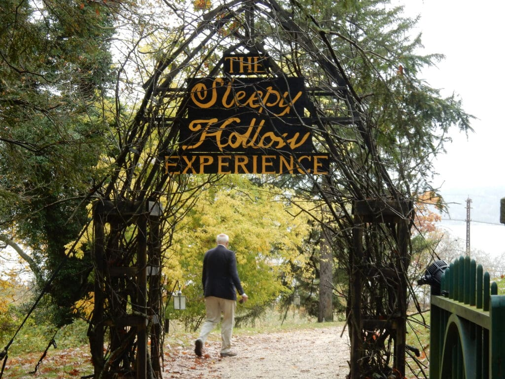 Entrance to Sleepy Hollow Legend Experience Sleepy Hollow NY