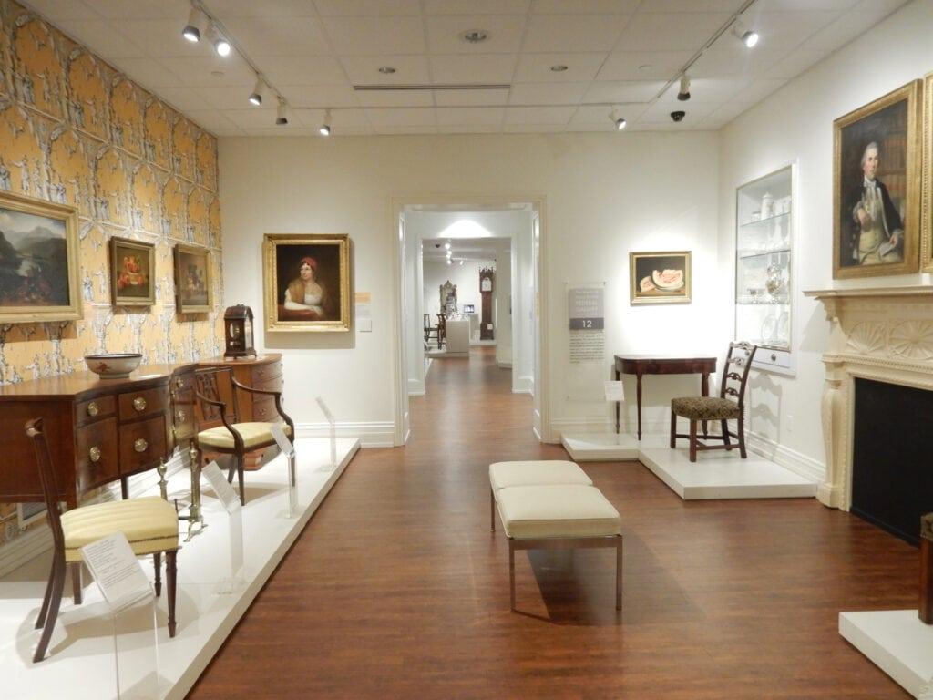 Sunlit Gallery Biggs Museum Dover DE