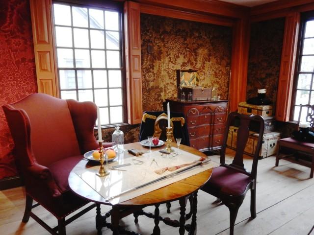 George Washington Room, Webb House, Wethersfield CT