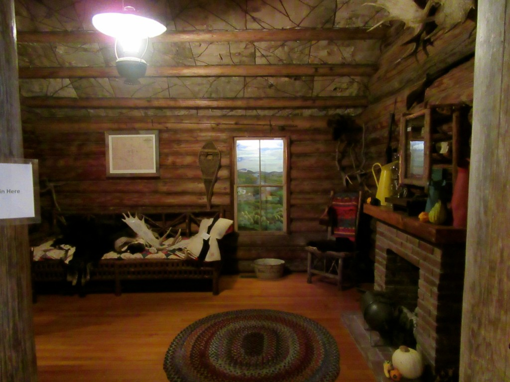 Guide Cabin, Rangeley Outdoor Sporting Heritage Museum, ME