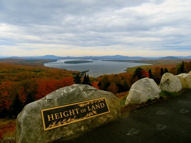 Height of Land Overlook, Route 17, ME