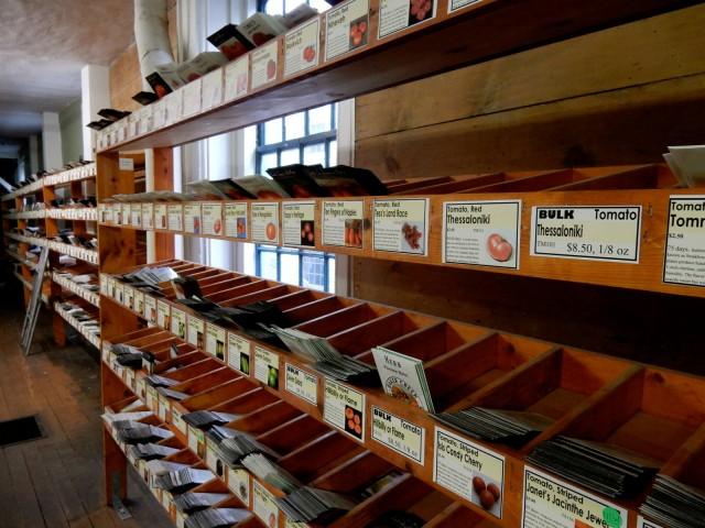 Heirloom Seeds, Commstock Ferre, Wethersfield CT