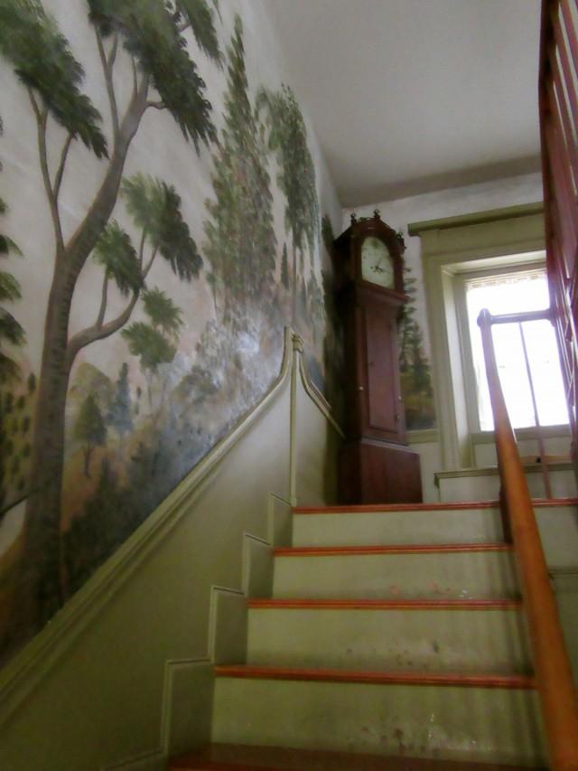 Historic Murals, Bethel ME Historical Society