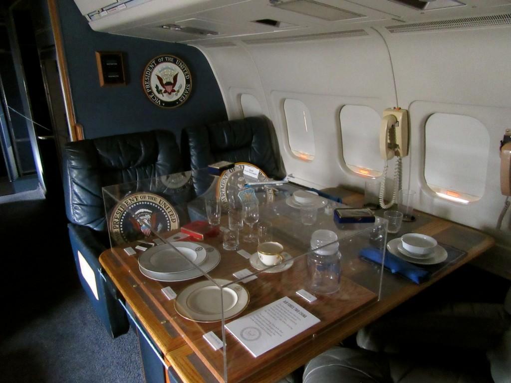 Inside AF 2, Air Mobility Command Museum, Dover DE