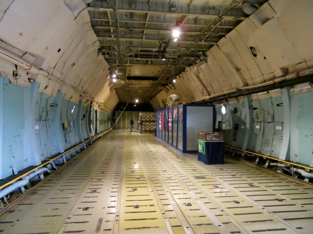 Inside C5A Galaxy, Air Mobility Command Museum, Dover DE