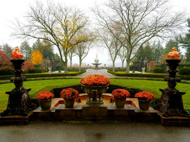 Kykuit view from front door, Tarrytown NY
