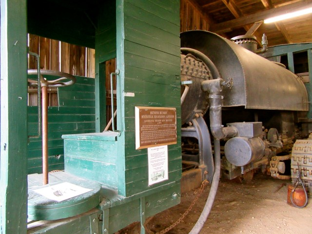Lombard Steam Log Hauler, Patten Lumberman Museum ME