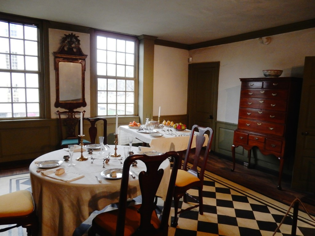 Luncheon for VIP, Silas Deane House, Wethersfield CT
