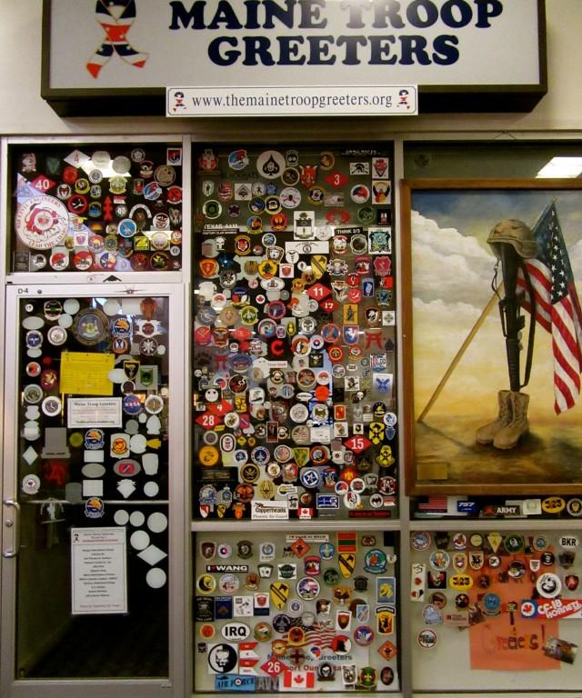 Maine Troop Greeters Museum, Bangor Airport, Bangor ME