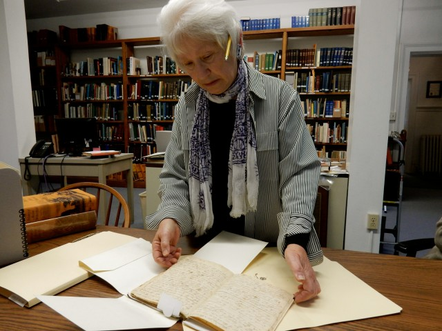 Martha Smart, Librarian, Old Weathersfield Academy Geneology Center CT