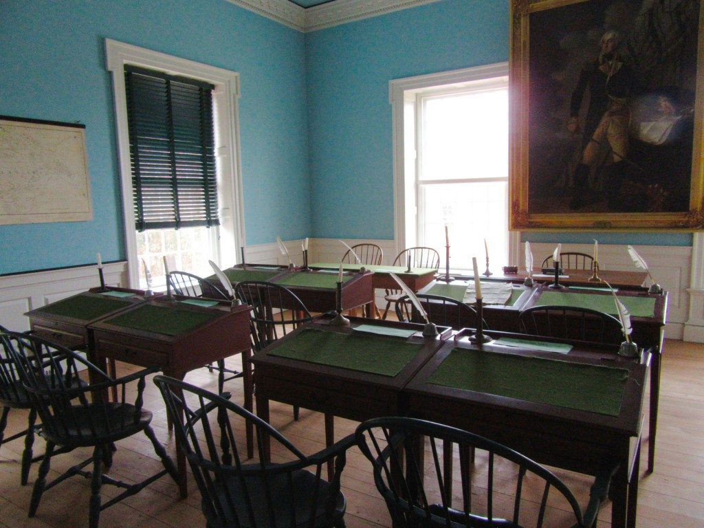 Old State House Interior, Dover Delaware