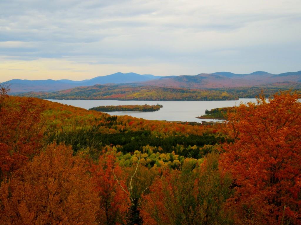 Rangeley Lake Region in Fall, Maine