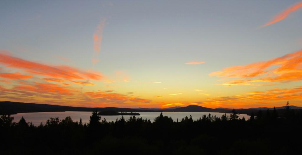 Rangeley Lake Sunset ME