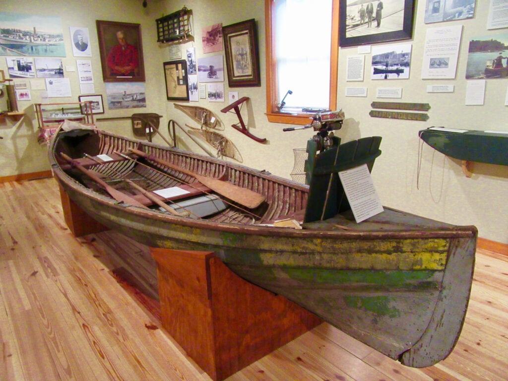 Rangely Lakes Antique Canoe