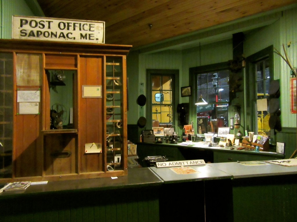 Saponac Post Office, First Cole Express Office, Bangor ME