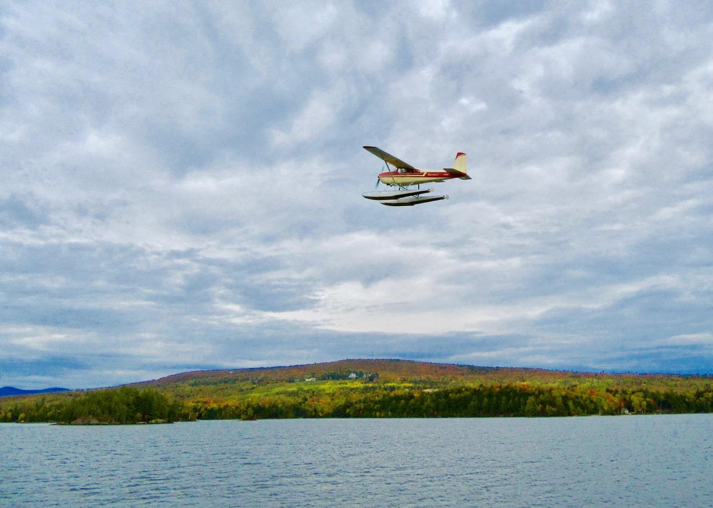 Sea Plane Tours Moosehead Lake ME