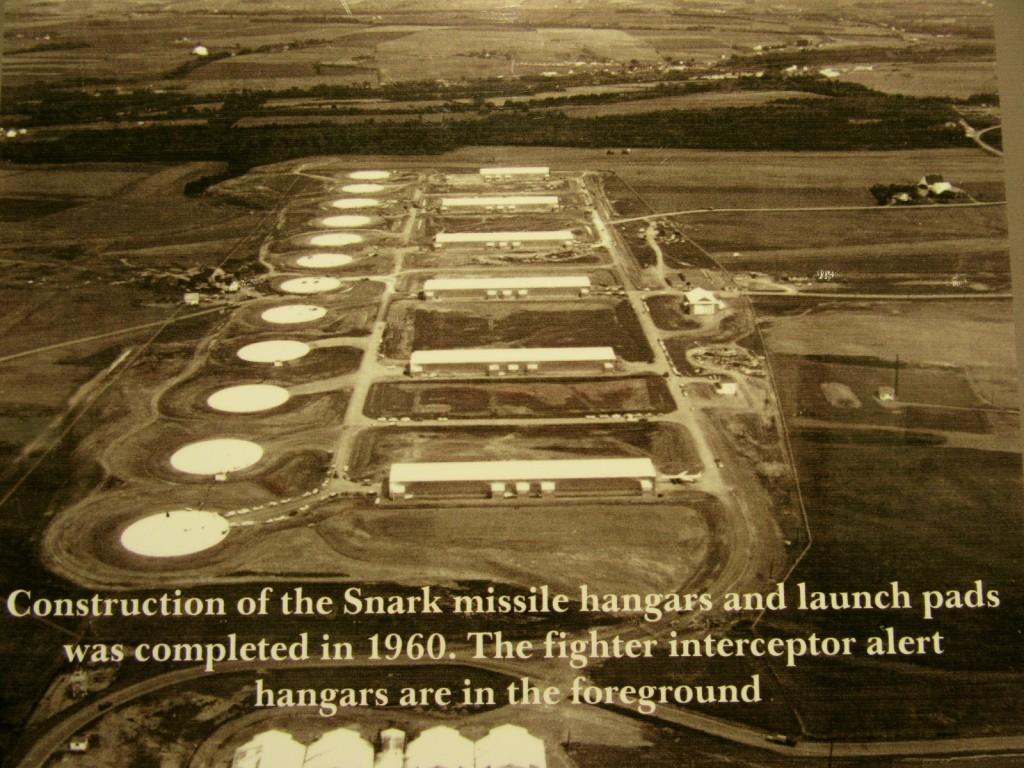 Snark Missle Hangar photo, Presque Isle ME