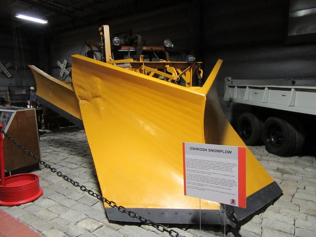 Snowplow, Cole Transportation Museum, Bangor ME
