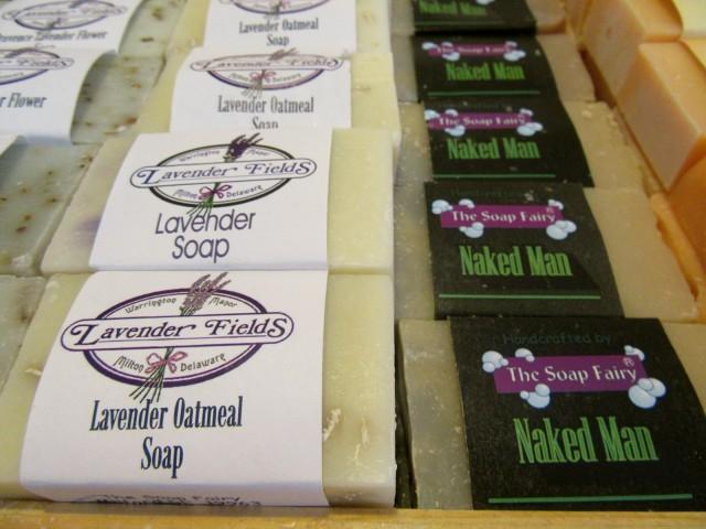 Soap Fairy Soap, Lavender Fields, Milton DE