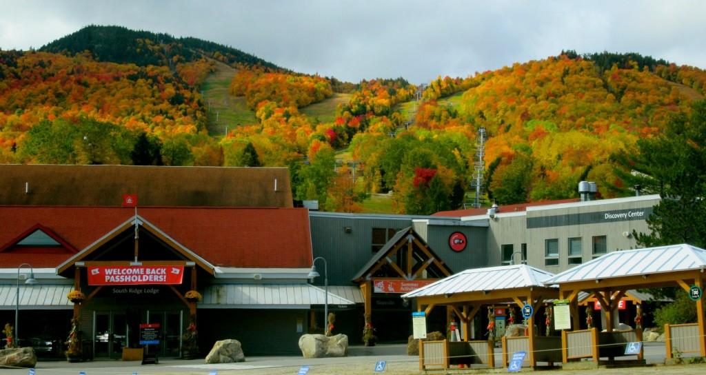 Sunday River Resort in Fall, Maine