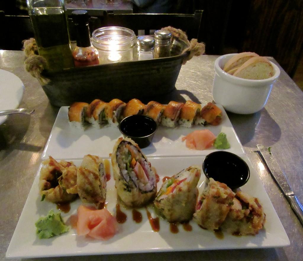 Sushi, Striper Bites, Lewes DE