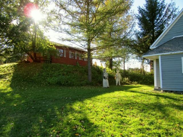 Tante Blanche Museum grounds, Madawaska ME