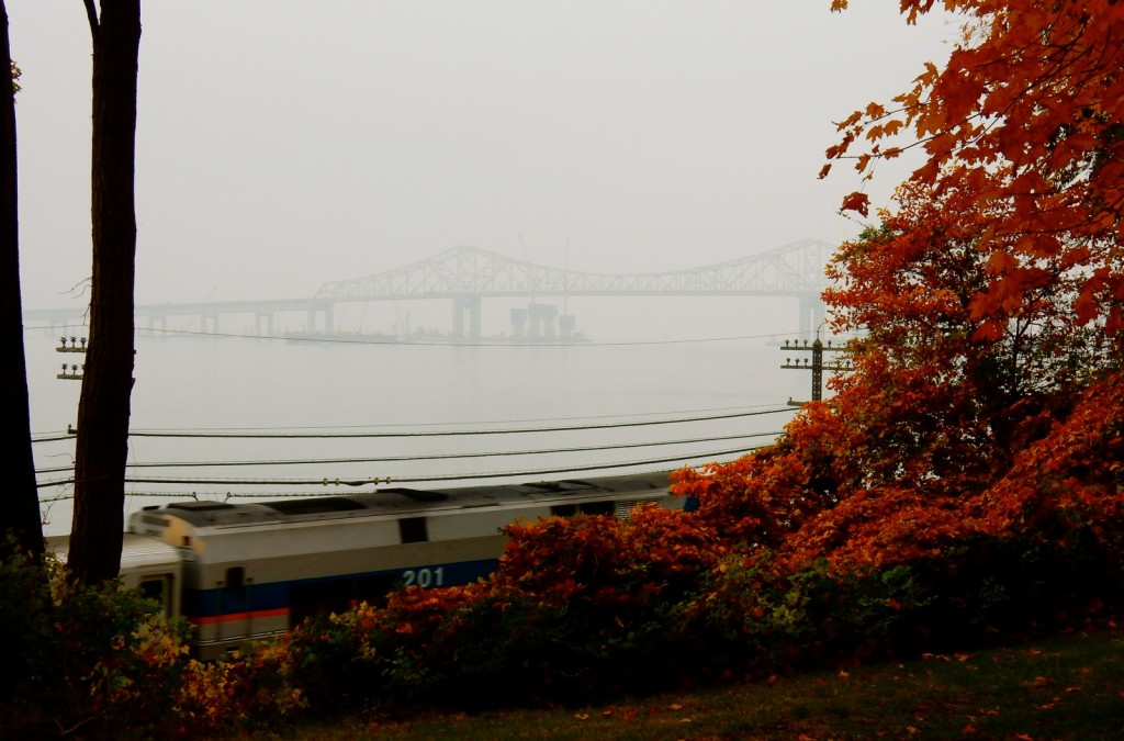 Tappan Zee Bridge in Mist, Tarrytown NY