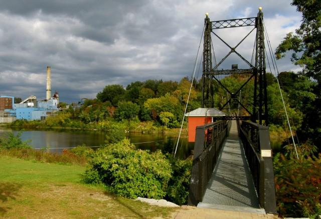 Two Cent Bridge, Waterville ME