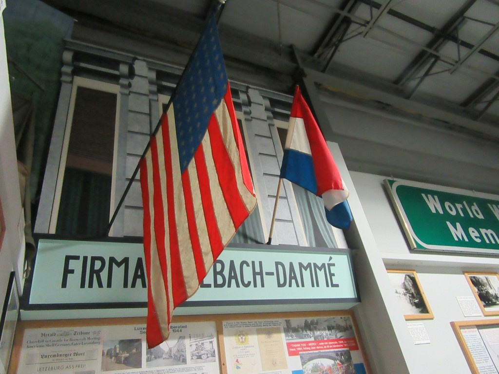 WWII American Flag from Luxembourg,