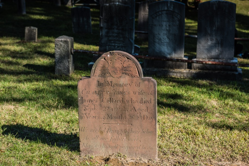 Early American folk art and gravestone - Sleepy Hollow Cemetery