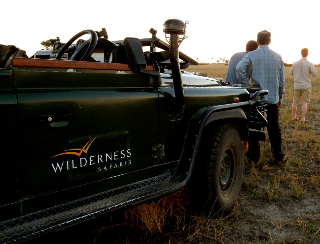 Jeep Seba Camp Botswana