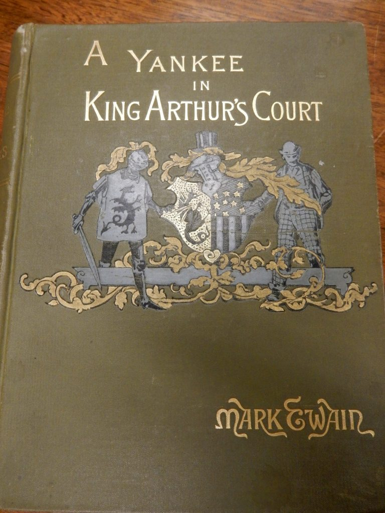First Edition Yankee In King Arthur's Court, Argosy Bookstore, NYC