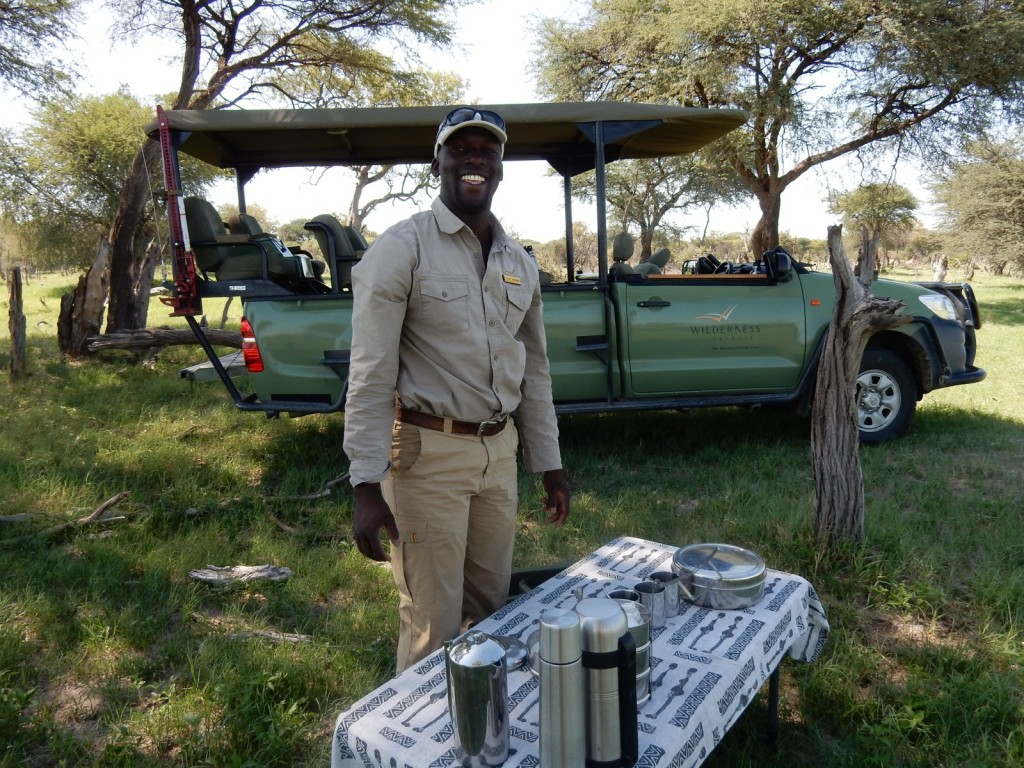 Guide Robert, Linkwasha Camp, Zim