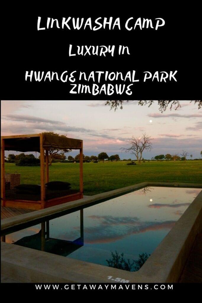 Linkwasha Camp Zimbabwe Pin