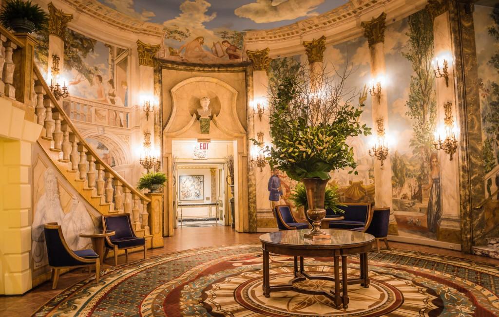 Rotunda - Taj Pierre Hotel in NYC