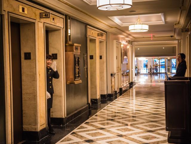 Pierre Hotel-Elevator Operator