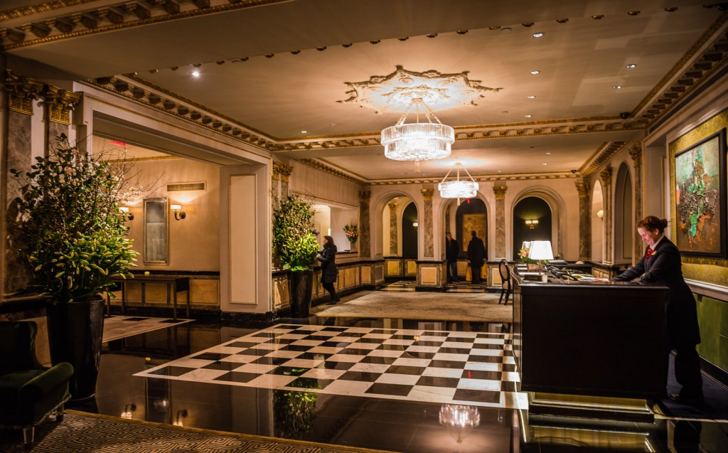 Taj Pierre Hotel Reception