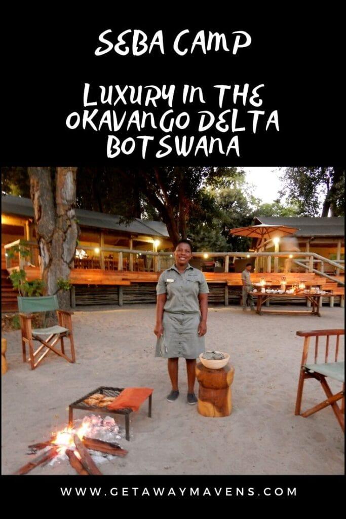Seba Camp Botswana Pin