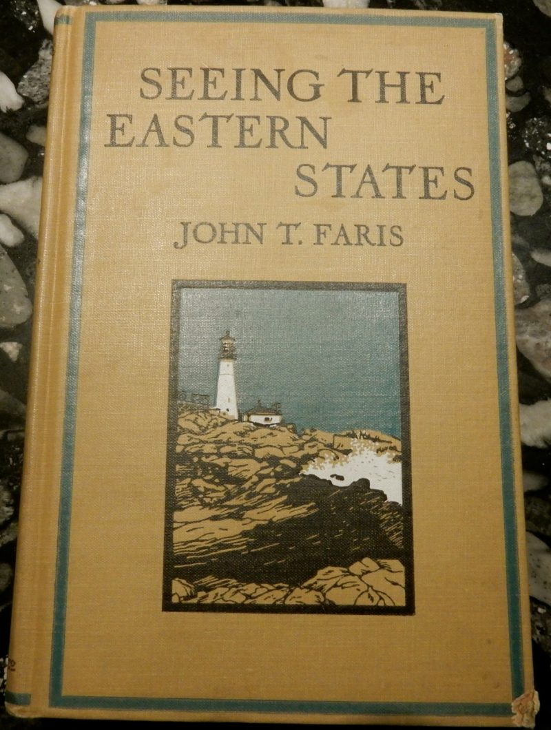 Seeing the Eastern States, 1922, Argosy Book Store, NYC