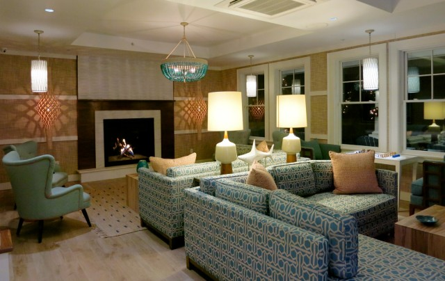 The Break Hotel Lobby, Narragansett RI