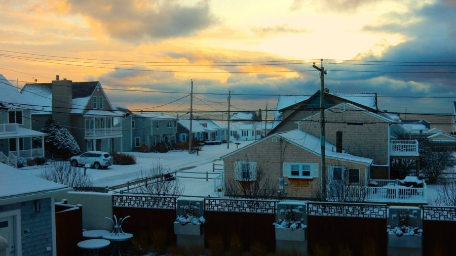 Narragansett RI in Winter