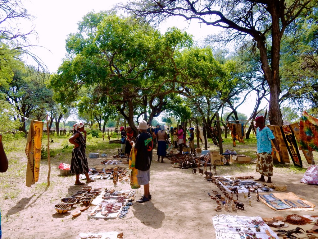 Village Market, Linkwasha Camp